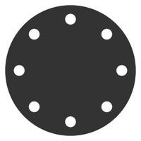Заглушка фланцевая АТК 24.200.02-90 нержавеющая 12х18н10т Ру-6, Ду-40