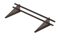 Снегозадержатель трубчатый дл. 1000 мм (8019) ROOFRetail