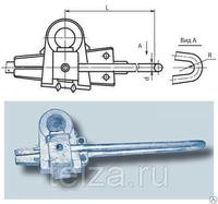 Зажим соединительный изолирующий МК-3 клин 3