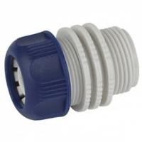 Адаптер для шланга 19мм (3/4) с наружной резьбой, пластик (50/200/2400) GREEN APPLE ЕСО