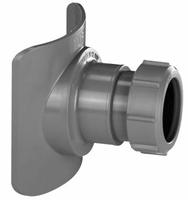 Адаптер канализационный переходной BOSSCONN 110-50GR для врезки в трубу большего диаметра (уп.60 шт.)
