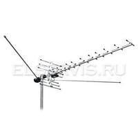 Антенна пассивная 1-60 канал, 21 эл., 1/2/8,5-14дБ, 1,31 кг, пассивная L 021.12