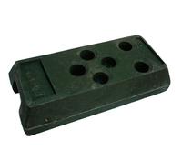 Башмак песчано-полимерный для временного ограждения