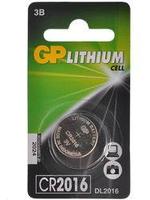 Батарейка для часов и игрушек GP CR2016-7C1