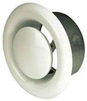 Диффузор вытяжной стальной D=125 с монтажным кольцом