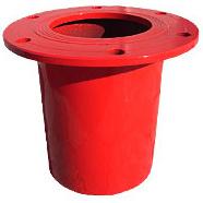 Пожарная подставка стальная фланцевая ППФ 150