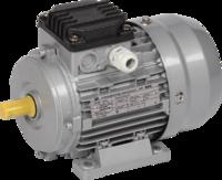 Электродвигатель 3-фазный асинхронный 0,18кВт 1500 об/мин. 380В IM1081 IP55 тип АД 56B4