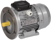 Электродвигатель 3-фазный асинхронный 0,18кВт 1500 об/мин. 380В IM2081 IP55 тип АД 56B4