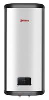 Электроводонагреватель накопит.вертикал. 50 л. FLAT DIAMOND TOUCH 1ф. 0,7/1,3/2,0кВт LCDсенсор.врем.нагр.1ч.20мин.нерж.