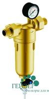 Фильтр Гейзер-Бастион 122 1/2 (с манометром для горячей воды, d60)
