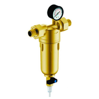 Фильтр Гейзер-Бастион 7508165201 (1/2 для горячей воды, с манометром d53)