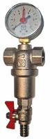 Фильтр самопромывной с манометром 1/2 Valtec VT 389, 250/1000 мкм