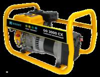 Генератор бензиновый однофазный 2.5 кВт, 230В, бак 3.6 л., расход 1,11 л/ч, ручной старт