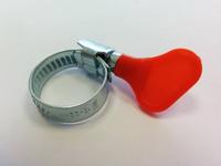 Хомут с ключом оцинкованный MGF 10-16 W1 (уп.25 шт.)