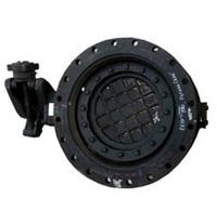 Затвор dendor 021f (фланц) чуг. диск хром. ру16 ду80