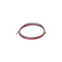 Канал стальной (красный) 1,0-1,2 mm, 3 м