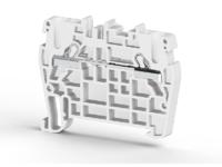 Клеммник пружинный быстрозажимной (Push in), 2,5 мм.кв. (бежевый), PYK2,5