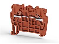 Клеммник пружинный быстрозажимной (Push in), 2,5 мм.кв. (красный), PYK2,5