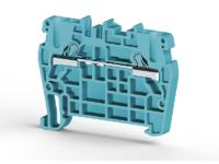 Клеммник пружинный быстрозажимной (Push in), 2,5 мм.кв. (синий), PYK2,5