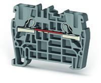 Клеммник пружинный быстрозажимной (Push in), 2,5 мм.кв. (желтый), PYK2,5
