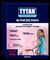 Клей Tytan Euro-line для флизелиновых и стеклообоев ФЛИЗЕЛИН 250 гр 1уп=12 шт