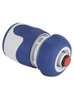 Коннектор с аквастопом для шланга 19 мм (3/4), пластик, TPR GREEN APPLE