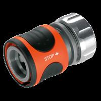 Коннектор с автостопом Premium 19 мм (3/4) GARDENA