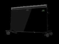 Конвектор панельный универсальный (стена+пол) 0,75/1,5 кВт, IP24, пульт управления, электрон. термостат, серия Plaza EXT, черный