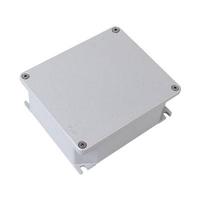 Коробка ответвительная алюминиевая 90х90х53мм окрашенная,IP66, RAL9006