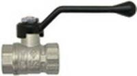 Кран шаровый рыч. 3/4 Вн.р. латунь/никель 600 Bugatti (уп.14 шт)