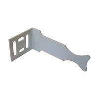 Кронштейн для радиатора угл. унив. (белый), MP-У