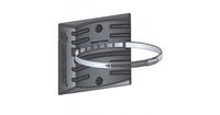 Кронштейн (РР) со стальным хомутом для крепления расширительных баков отопления 10л.Джилекс