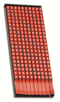 """Маркер для кабеля сечением 0,5-1,5мм символ """"B"""""""