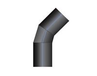 Отвод ПНД 45-60 сварной PN10 SDR17 1200*1000