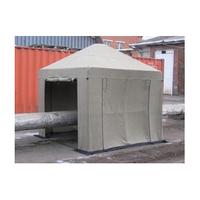 Палатка сварщика брезентовая 3х3 м