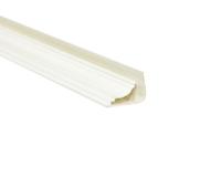 Плинтус потолочный ПВХ, белый 3м. Уп=30шт.