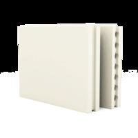 ПГП 667*500*80 Плиты гипсовые для перегородок пустотелые Гипсополимер 1уп=30шт (0,3335м2)