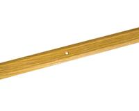 Порожек стыкоперекрывающий узкий (ПС01, 1350,082, дуб светлый) 1,35м*25 мм