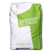 Портландцемент зеленый мешок ЦЕМ II/В-Ш 32,5Н 1уп=50кг Сухой Лог 1под=35 шт=1,75 тн