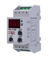 Реле контроля напряжения модульное цифр. многофункц. 160-280В 16А тип РН-111М