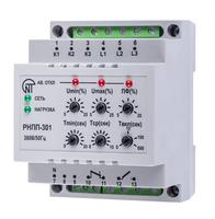 Реле контроля напряжения модульное послед. 220-380В 1НО+1НЗ тип РНПП-301