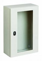 Шкаф 600х600х200мм с прозрачной дверью, серия S3D
