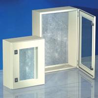 Шкаф 600x400x250мм, IP55 с прозрачной дверью, навесной серии CE