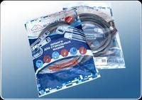 Шланг наливной для стиральной машины ( в пакете) 5 м, 3/4, 20 бар.Monoflex (кор.100 шт.)