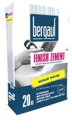 Шпаклевка цементная финишная Finish Zement 20кг Bergauf 1уп=64шт