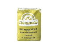 Штукатурка Печник для печных работ (+600 С), 20кг, 54шт