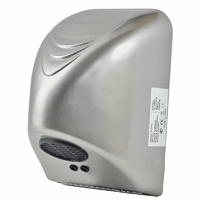 Сушилка для рук 1,0 кВт 220 В скор.потока воздуха 7 м/с авт.вкл./выкл.корпус ударопрочный пластик цвет хром IP23