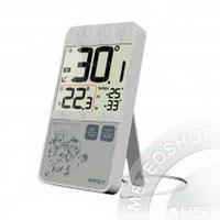 Термометр цифровой с проводным датчиком в стиле iPhone настол.уст.серебристый