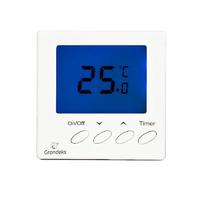 Терморегулятор электронный непрограм.G11Н с датчиком пола,ЖК-экран, пределы регулирования температуры от 0 С до +40°С