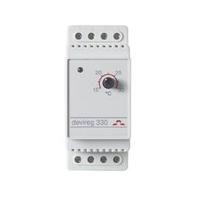 Терморегулятор на DIN-рейку с датчиком 3м с регулятором (t =+5+45 C) IP20 Д-330
